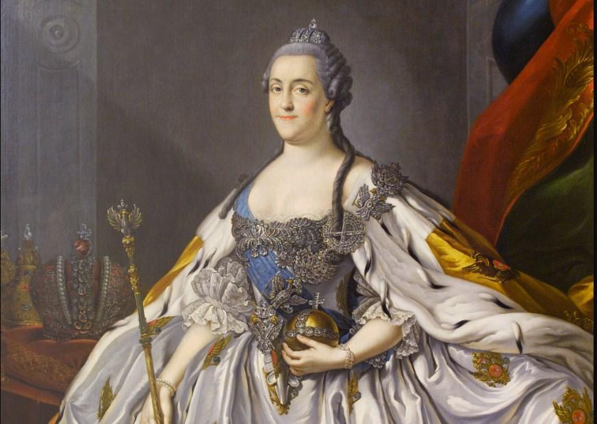 Портрет Екатерины II Великой